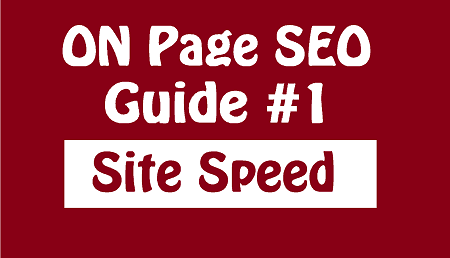 on page seo site speed writers motion