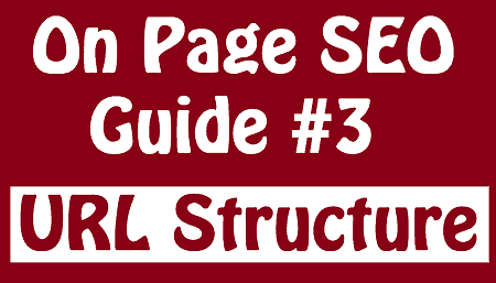 on page seo guide url structure