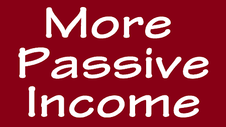 more passive income